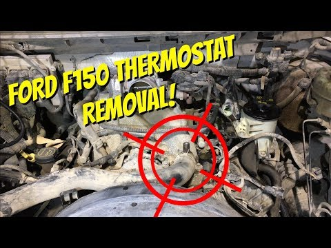 DIY THERMOSTAT REPLACEMENT FORD 5.4l F150/EXPEDITION