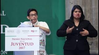 Tuxtepecano, gana Premio Nacional de la Juventud 2017