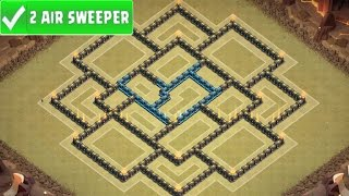 getlinkyoutube.com-Clash Of Clans | EPIC TOWN HALL 9 WAR / TROPHY BASE | TH9 War Strategy Speed Build! [2016]
