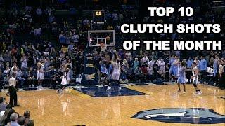 getlinkyoutube.com-Top 10 Clutch Shots of October and November: 2016-2017 NBA Season