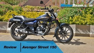 getlinkyoutube.com-Bajaj Avenger 150 Street Review | MotorBeam