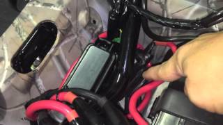 getlinkyoutube.com-Winch Installation on 2016 Honda Rancher 4x4