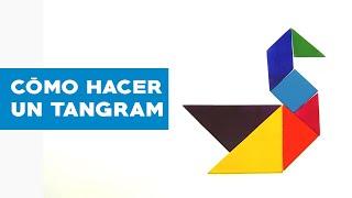 ¿Cómo hacer un tangram?