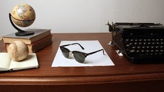 : Super Clever Sunglass Illusion