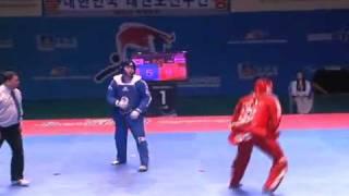 getlinkyoutube.com-Showing the world the dynamics of taekwondo competition. Korea vs Russia