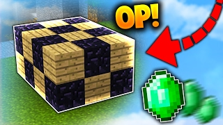 getlinkyoutube.com-THE MOST OP BED DEFENCE! | Minecraft BED WARS with PrestonPlayz