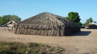 getlinkyoutube.com-Brazil....Xingu River ..Village Kamayura Indians  / Aldeia  Indios   Kamayura/