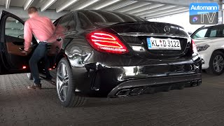Picking up the 2015 Mercedes-AMG C63 S (510hp)