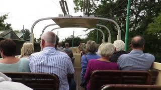 getlinkyoutube.com-Under the wires - looking up from open-top trolleybus 202 (ALJ 986)