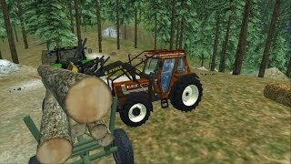 getlinkyoutube.com-Farming Simulator 2013: Travaux Forestier #2 [HD]
