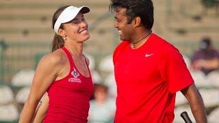 getlinkyoutube.com-Leander Paes & Martina Hingis 2014 WTT Finals Highlights