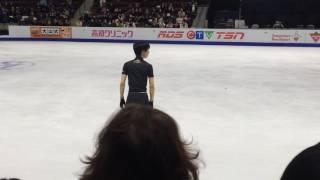 Yuzuru Hanyu SC2016 Day 3 practice: 4T+4Lo+4S