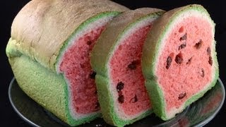 getlinkyoutube.com-Watermelon Look-Alike Raisin Bread- with yoyomax12