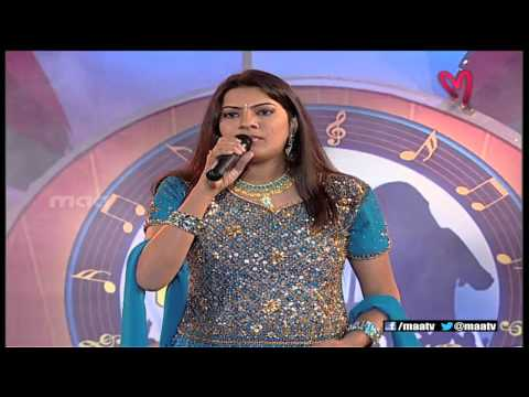 Super Singer 1 Episode 34 : Geetha Madhuri Special Song ( Chamka Chamka Chamki Re )
