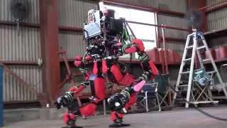 getlinkyoutube.com-SCHAFT : DARPA Robotics Challenge 8 Tasks + Special Walking