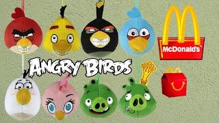 getlinkyoutube.com-angry birds mcdonald's - mc lanche - Coleção completa - Novembro 2015