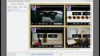 How to insert multiple videos on one slide using Web Objects and HTML