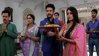 getlinkyoutube.com-Sasural Simar Ka | 09th Oct 2015 | Prem & Simar Performs The Navratri Puja Happily