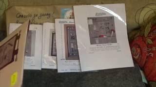 getlinkyoutube.com-Покупка французских наборов! Вышивка крестиком.