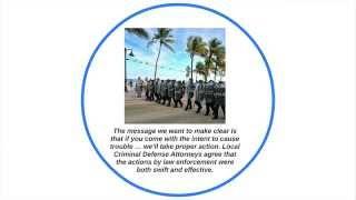 Memorial Day Arrests