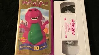 getlinkyoutube.com-Opening & Closing To Sing & Dance With Barney 2000 VHS