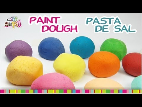 Painting Salt Dough / Pintando la masa de sal