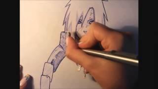 getlinkyoutube.com-drawing Madara Uchiha sketch