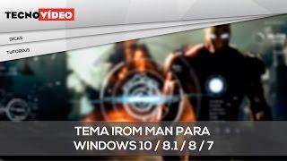 getlinkyoutube.com-Tema Iron Man para windows 10 / 8.1 / 8 / 7