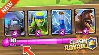 getlinkyoutube.com-¡¡COMO tener ELIXIR INFINITO en Clash Royale!! MAZO 2.8 de Clash Royale