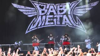 getlinkyoutube.com-Doki Doki Morning - Babymetal live at Rock in Vienna, June 2015