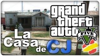 getlinkyoutube.com-GTA V - Visitamos la casa de CJ! (de San Andreas)
