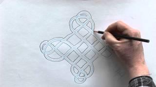 getlinkyoutube.com-How To Draw A Carrick Bend Knot