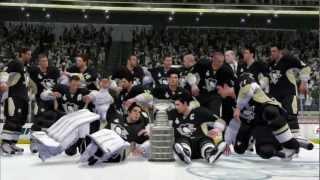 getlinkyoutube.com-NHL 13 (PS3) - Stanley Cup Finals Game 5 - Sharks vs Penguins