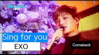 getlinkyoutube.com-[HOT] EXO - Sing for you, 엑소 - 싱포유, Show Music core 20151212