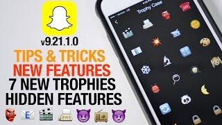 getlinkyoutube.com-Snapchat 9.21.1.0 Update - How To Unlock New Trophies, Secrets & Hidden Features