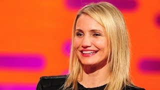 getlinkyoutube.com-CAMERON DIAZ on Pubic Hair Preservation & Private Parts Grooming - Graham Norton Show BBC America