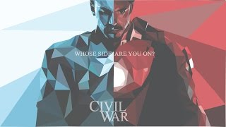 Speed Art | CivilWar Low Poly | Adobe Illustrator