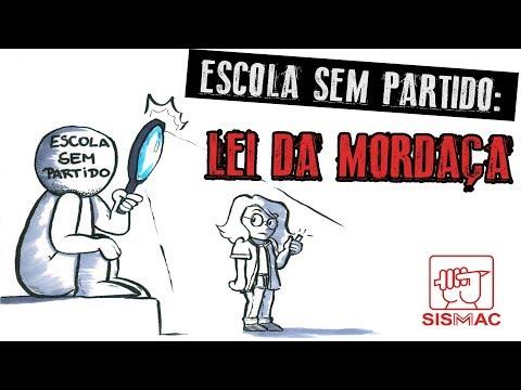 O SISMMAC desenha: Escola Sem Partido