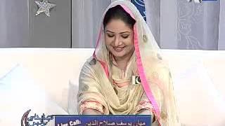 getlinkyoutube.com-Chandani Batein Epi 14 Part 7/10 Guest : P J Meer, Hina Nasrullah, Habib Ahmed and Farah Laal
