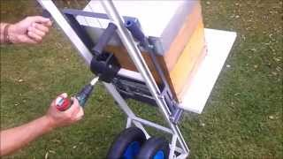 Apihelfer PRO - the use of drilling machine for faster beekeeping