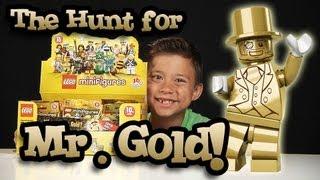 getlinkyoutube.com-The Hunt for MR. GOLD! EvanTubeHD LEGO Series 10 Minifigure Unboxing - PART 1