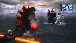 getlinkyoutube.com-Godzilla PS4 Burning Godzilla gameplay