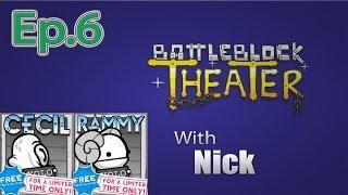 getlinkyoutube.com-CECIL & RAMMY BattleBlock Theater (Furbottoms Features) Ep. 6