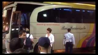 getlinkyoutube.com-Kedatangan EXO di bandara Soekarno Hatta 2014