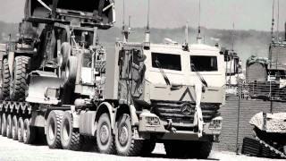 getlinkyoutube.com-Afghan War Canadian Forces Actros Armoured Truck AHSVS Mercedes-Benz Daimler Unimog