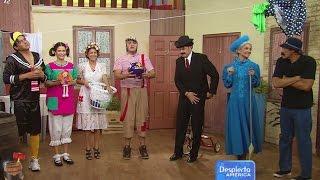 getlinkyoutube.com-La Vecindad del Chavo en Despierta América, en honor a Chespirito