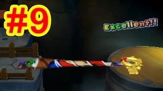 getlinkyoutube.com-#9 新技トリオキャッチ習得!マリオ&ルイージRPGペーパーマリオMIX実況