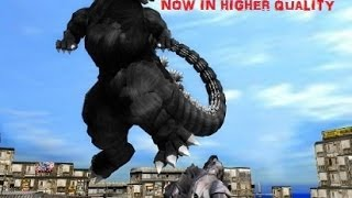 getlinkyoutube.com-MMD Godzilla - Godzilla VS The Army, MOGUERA, and MechaGodzilla