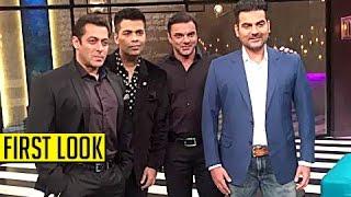 getlinkyoutube.com-FIRST LOOK : Salman Khan, Sohail and Arbaaz On Koffee With Karan 5 100 Episode