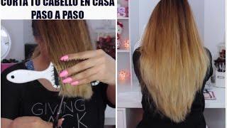 getlinkyoutube.com-Como cortar el pelo en capas tu misma PASO A PASO♥BeautybyNena